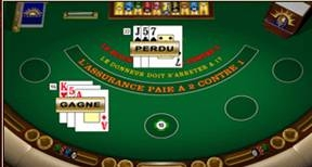 Screenshot 3 du Blackjack